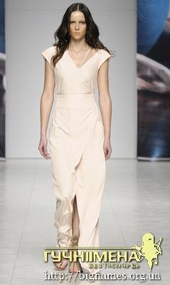 Андре Тан, весільна сукня