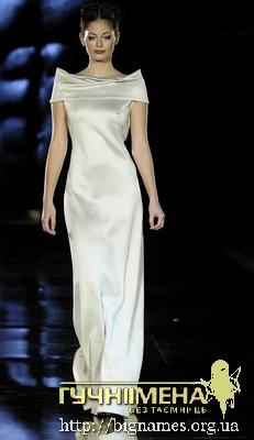 Оксана Караванська, весільна сукня