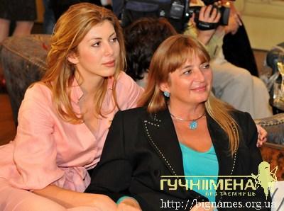 мама моделі і телеведучої Марисі Горобець - Ірина Федорівна, Марися Горобець