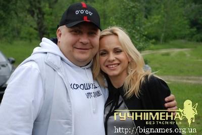 Сергій Галібін і Лілія Ребрик